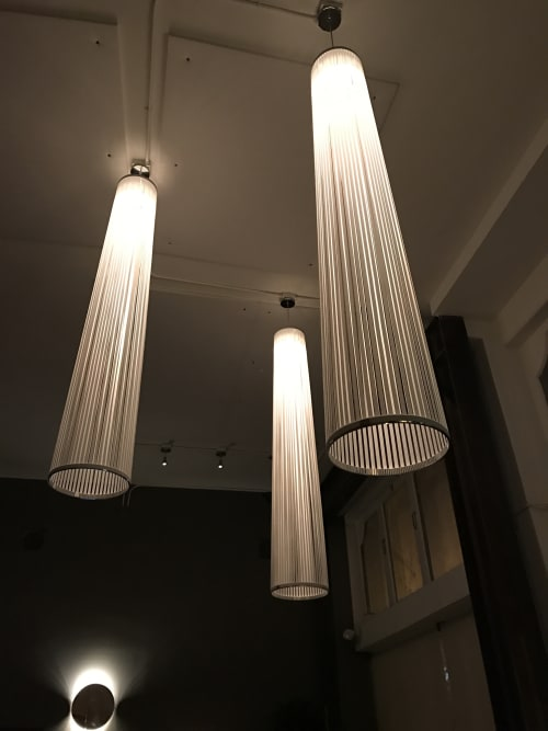 Lighting by Pablo Designs seen at Lord Stanley, San Francisco - Solis