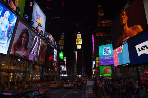 Art & Wall Decor by Marpi Studio seen at Times Square, New York - Digital Art