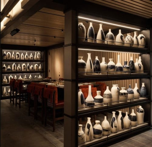Tableware by Pascale Girardin at Nobu Downtown, New York - Ceramics Sake