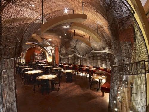 Furniture by Kenneth Cobonpue at Nobu Atlantis, The Palm Jumeirah, Dubai, Dubai - Restaurant Wall Canopy
