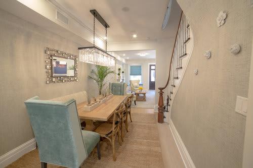 Interior Design by Marie Burgos Design at Garden Street Brownstone, Hoboken - Interior Design