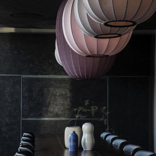 Pendants by Iskos-Berlin seen at Sticks'n'Sushi, København - Knit-Wit