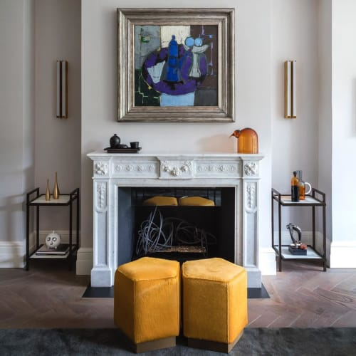 Tables by Casa Botelho seen at Private Residence, London - Bacco Side Tables