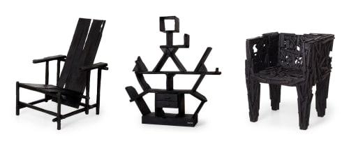 Maarten Baas - Chairs and Paintings