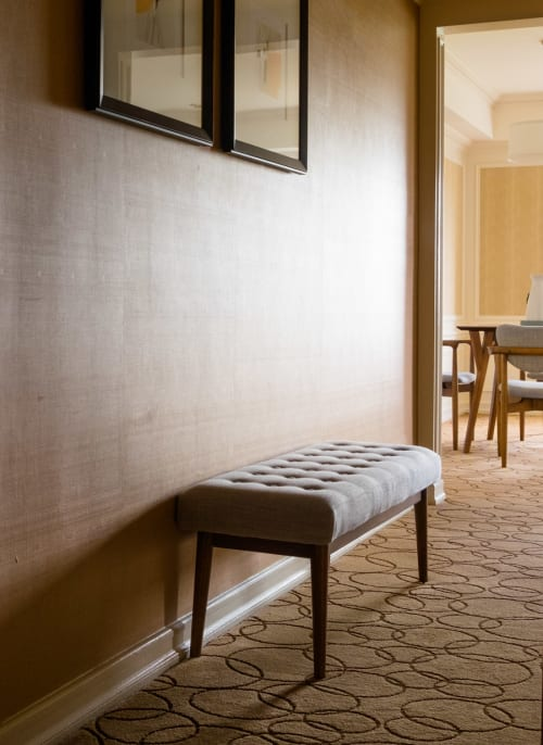 Benches & Ottomans by West Elm seen at JW Marriott Essex House New York, New York - Mid-Century Upholstered Bench