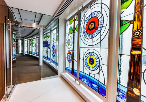 Public Mosaics by David Lee Csicsko seen at Ann & Robert H. Lurie Children's Hospital of Chicago, Chicago - Forest of Hope