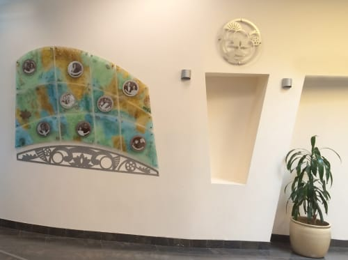 Art & Wall Decor by Reddy Made Designs seen at India Community Center, Milpitas, CA, Milpitas - Gratitude Lotus