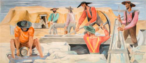 Anton Refregier - Street Murals and Public Art