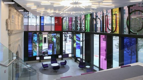 Columbia College Chicago, Public Service Centers, Interior Design
