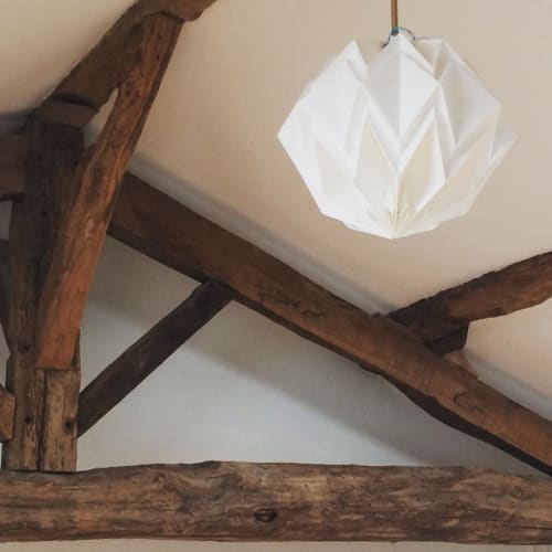 Pendants by Kate Colin Design seen at Private Residence, Glasgow - Hibiscu