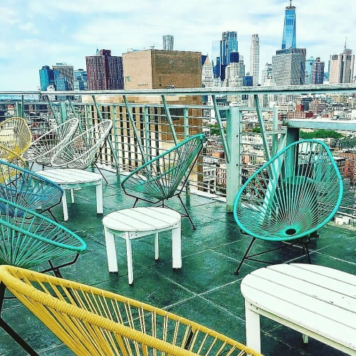 Chairs by Innit Designs at Hotel on Rivington, New York - Acapulco Chair