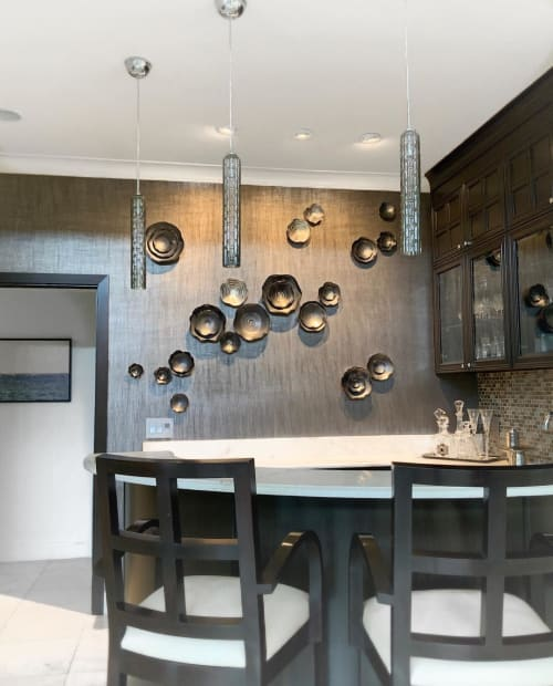 Art & Wall Decor by Lucrecia Waggoner at Private Residence, Dallas - Emotional Darkness