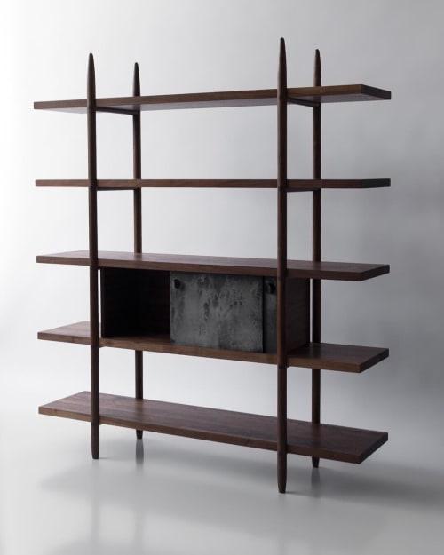 Furniture by Birnam Wood Studio seen at Birnam Wood Studio, Queens - Deepstep Shelving