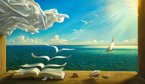 Vladimir Kush - Paintings and Art