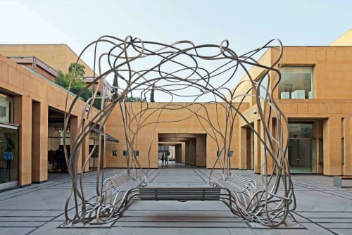 Sculptures by Pablo Reinoso seen at Beirut Souks, Beirut - Gloriette Lebanon