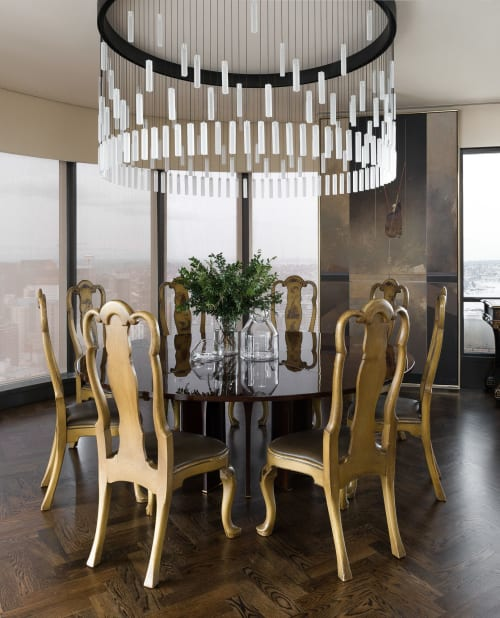 Pendants by Graypants seen at Private Residence, Seattle - Loci Fixtures