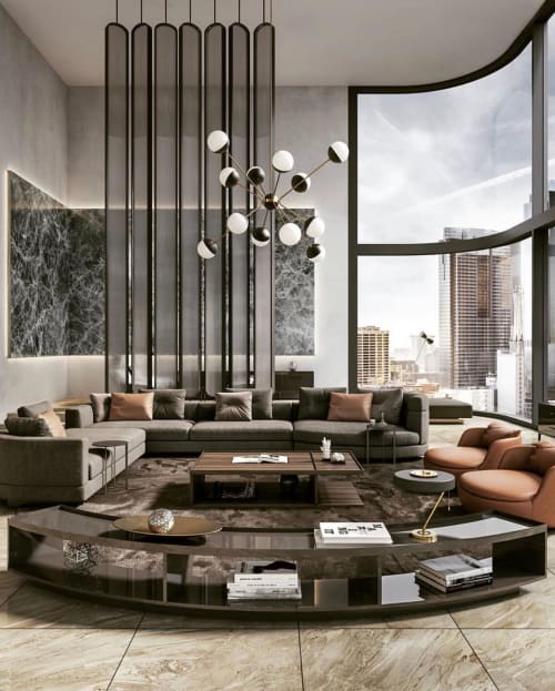 Interior Design by Georgios Tataridis seen at Private Residence, Los Angeles - Luxurious Interior Design