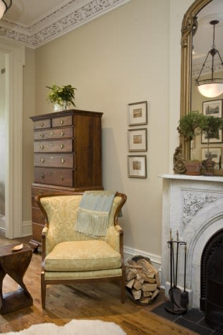 Interior Design by MARAIS Home seen at Private Residence - Cobble Hill, Brooklyn - Cobble Hill Brownstone