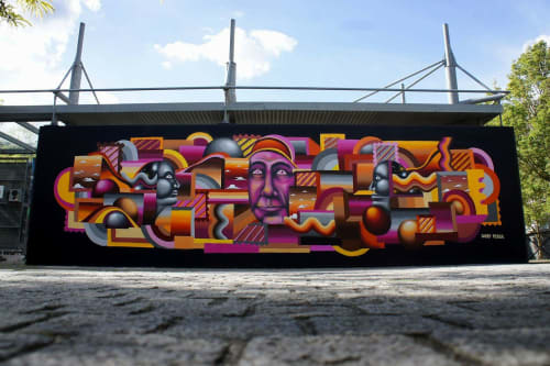 Darry Perier - Street Murals and Public Art