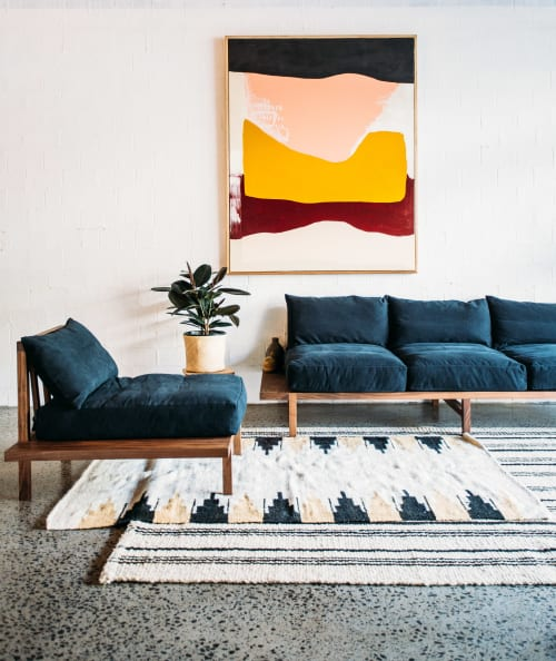 Couches & Sofas by JD.Lee Furniture seen at Private Residence, Mullumbimby - Finley Sofa