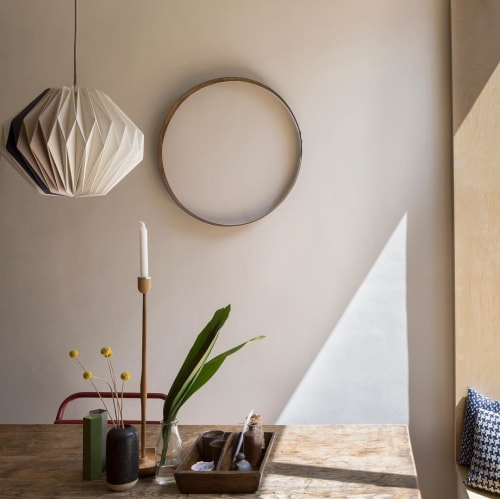 Pendants by Kate Colin Design seen at Private Residence, Glasgow - Coriana
