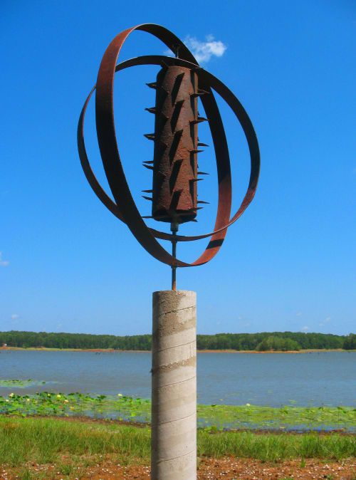 Sculptures by Tamara Robertson at Private Residence, Nacogdoches - Recess