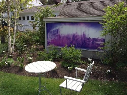 Paintings by Jacob Felländer seen at c/o The Maidstone, East Hampton - Art: Los Angeles – Hong Kong – Bombay