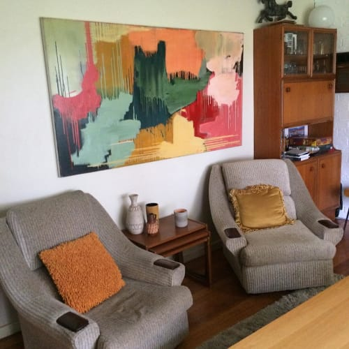 Paintings by Carolyn O'Neill seen at Private Residence, Altona - Landslide of Love