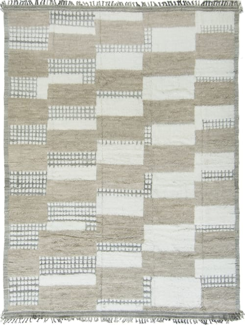 Rugs by Mehraban seen at Mehraban Rugs, West Hollywood - Shahmaran, Kust Collection by Mehraban
