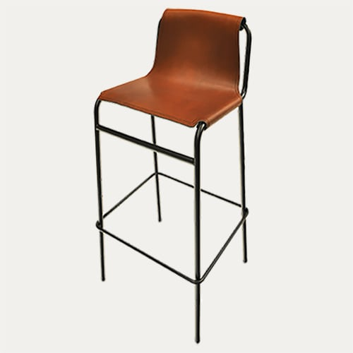 Chairs by Dennis Marquart seen at Madam Amsterdam, Amsterdam - September Barstool