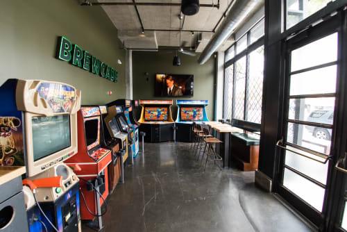 Brewcade, Bars, Interior Design