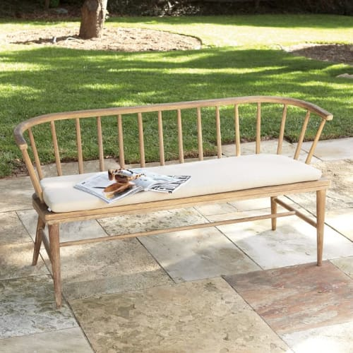 Benches & Ottomans by West Elm seen at The Joshua Tree House, Joshua Tree - Dexter Outdoor Bench Cushion