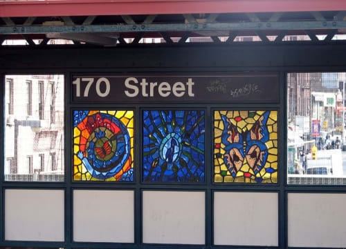 Art & Wall Decor by Dina Bursztyn seen at 170th Street Station, Bronx, Bronx - The View from Above
