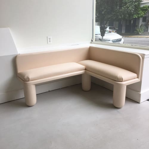 Benches & Ottomans by Jack Rabbit Studio seen at NINA Z, Hudson - Chubby bench