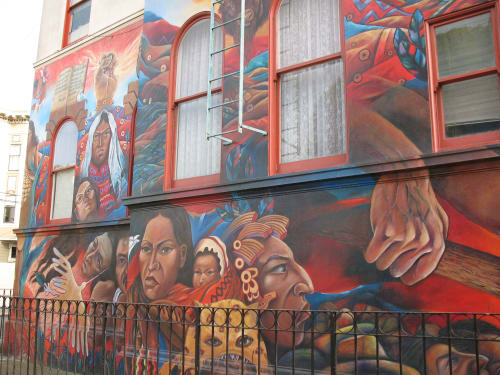 Isaias Mata - Street Murals and Public Art