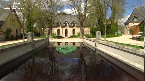 Domaine de Chaumont-sur-Loire Centre of Arts and Nature, Farmyard Le Fenil Gallery, France