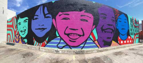 Jessica Sabogal - Street Murals and Public Art