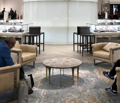 Tables by Gabriel Scott seen at Saks Fifth Avenue, Downtown Miami, Miami - Prong Coffee Table