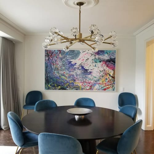 Paintings by Peter Triantos seen at Private Residence, Toronto - NV #18