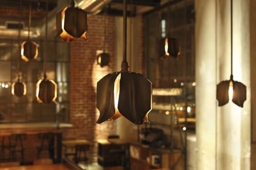 Pendants by Studio Unltd seen at Bestia, Los Angeles - Tulip Pendant Lighting
