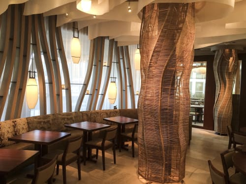 Furniture by Kenneth Cobonpue at Nobu Miami, Miami Beach - Sculpture