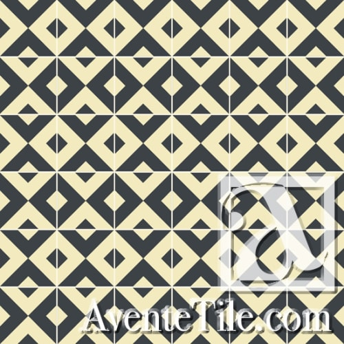 Tiles by Avente Tile seen at Redbird, Los Angeles - Classic Serengeti Tiles