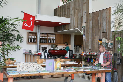 Ritual Coffee Roasters at Flora Grubb, Cafès, Interior Design