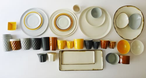 Santimetre Studio by Tulya Madra - Ceramic Plates and Tableware