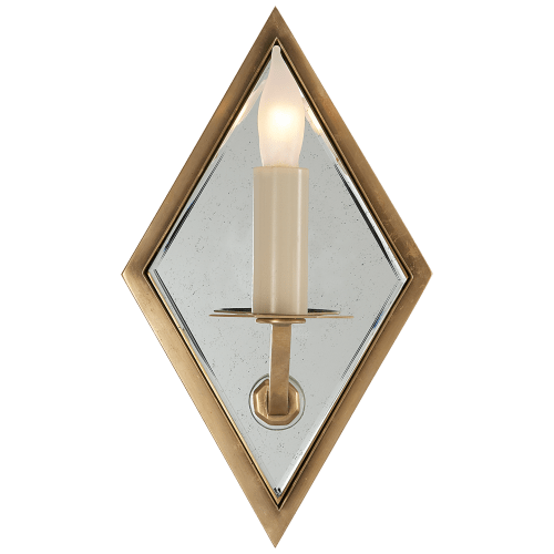 Sconces by John Rosselli seen at Casa Laguna, Laguna Beach - Jenna Mirror Sconce