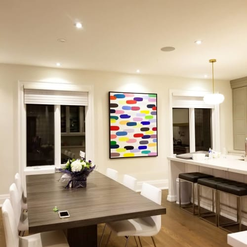 Paintings by Peter Triantos seen at Private Residence, Toronto - Jelly Bean #33