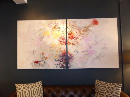 Paintings by Erin Lynn Welsh seen at Homepolish Interior Design, New York - Painting