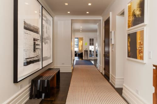 Rugs by Jorge Lizarazo of Hechizoo at Williamson Residence, Williamson - Custom Rug