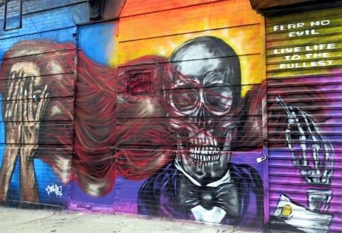 N Carlos J - Murals and Art
