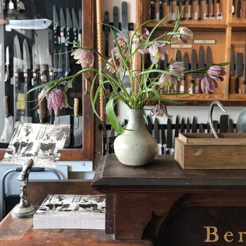 Floral Arrangements by Wallflower Design seen at Bernal Cutlery, San Francisco - Flowers at Bernal Cutlery